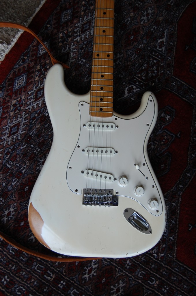 Finished as the customer wanted with new Fender USA pickups