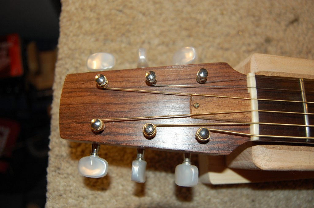 Love the simple headstock