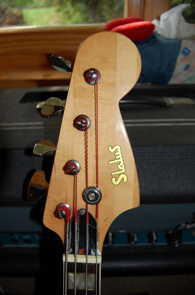 Tuners actually work very well and classic fender headstock shape