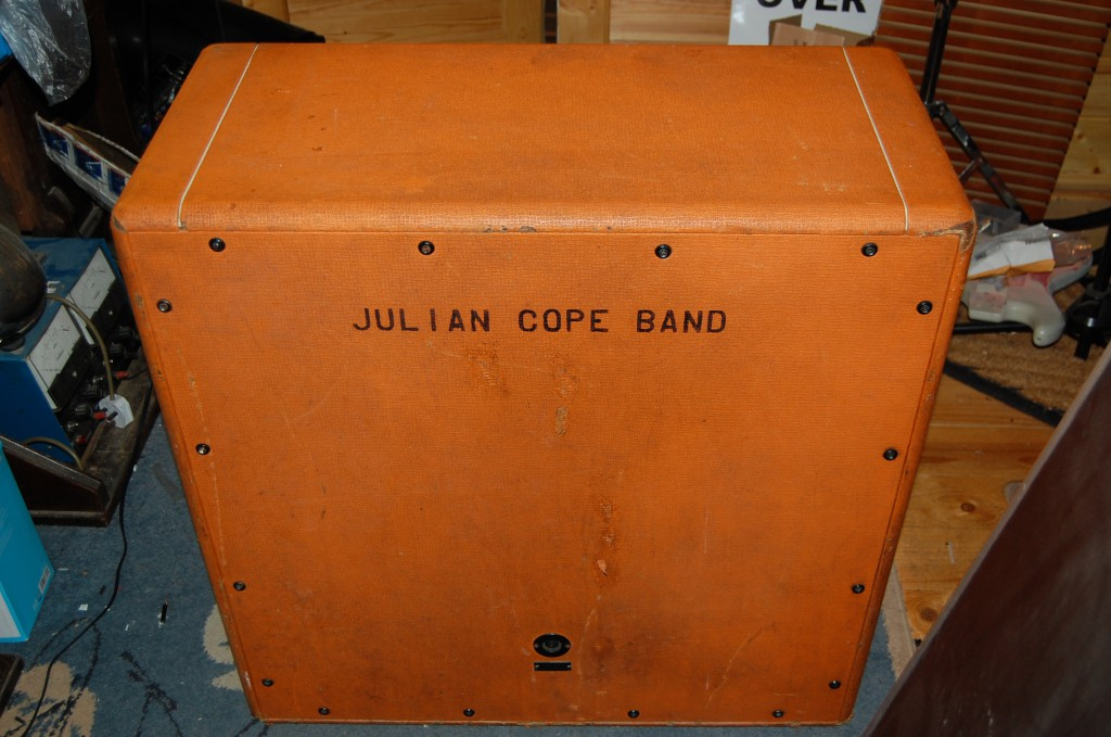 Julian used this cab with his band for a while