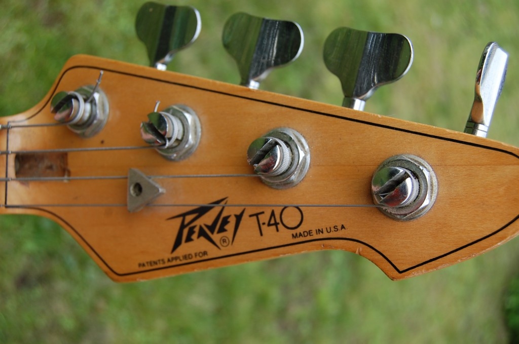 Nice headstock but bent tuner on the E string