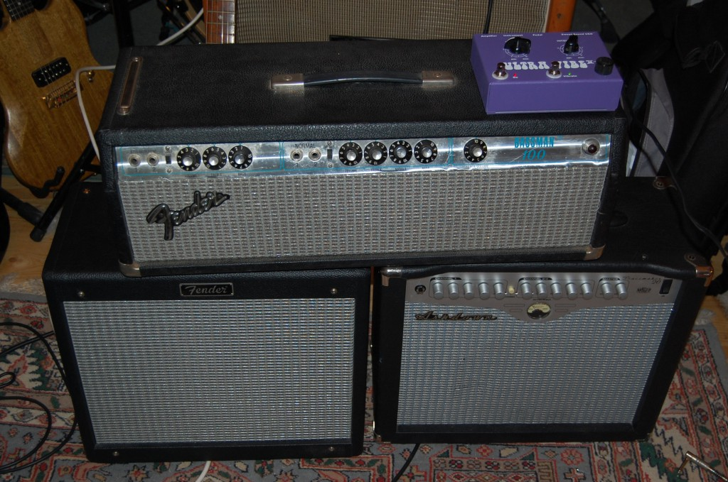A few nice silver face amps ;-)