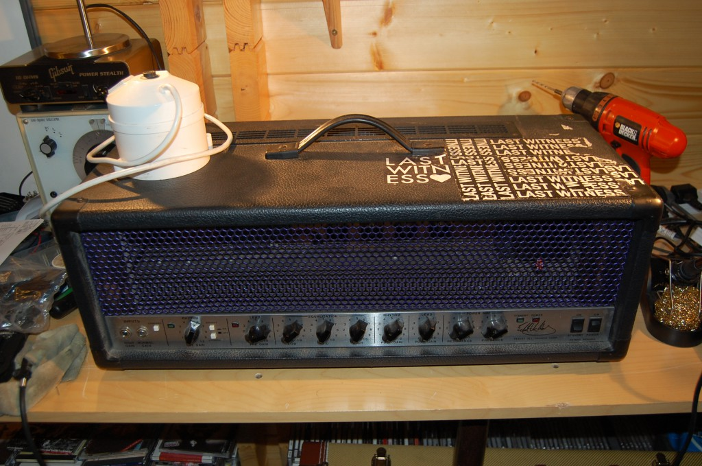 USA 5150.. with step down converter (200 Watt one when the amp can peak at 400 Watts so used my own step down transformer!