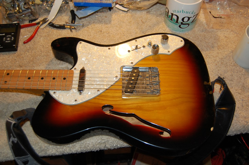 Lovely thinline Telecaster made in mexico