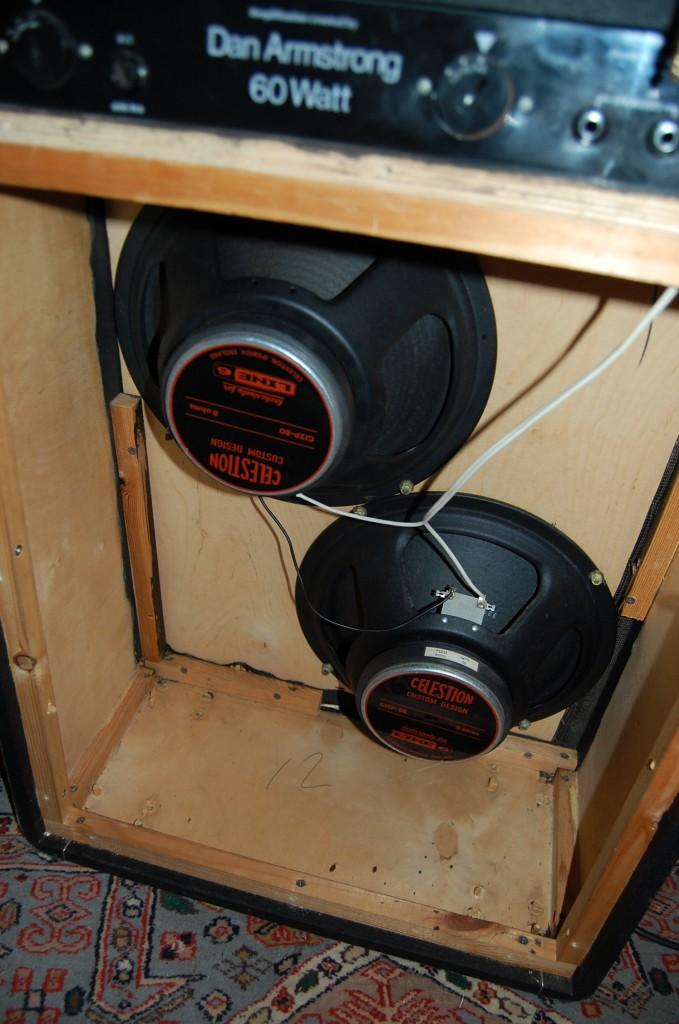 None original Celestions made for Line 6 amps.. should sound OK though