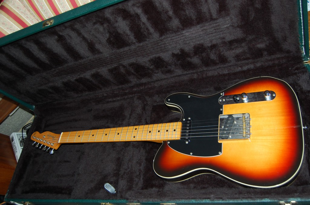 Really lovely guitar, just bought and in need of a service.