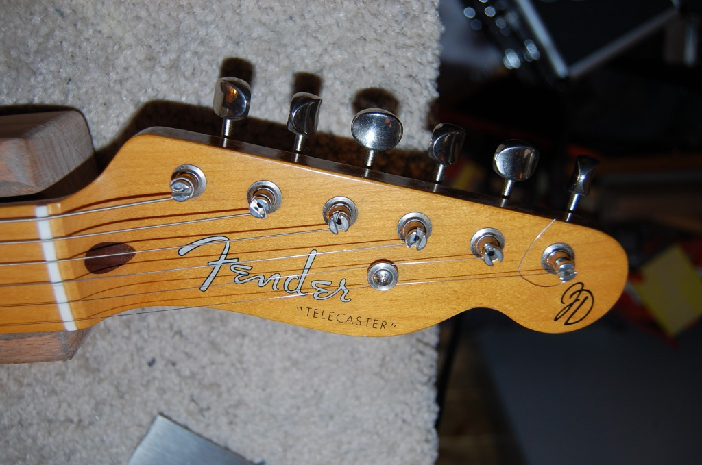 Lovely classic headstock