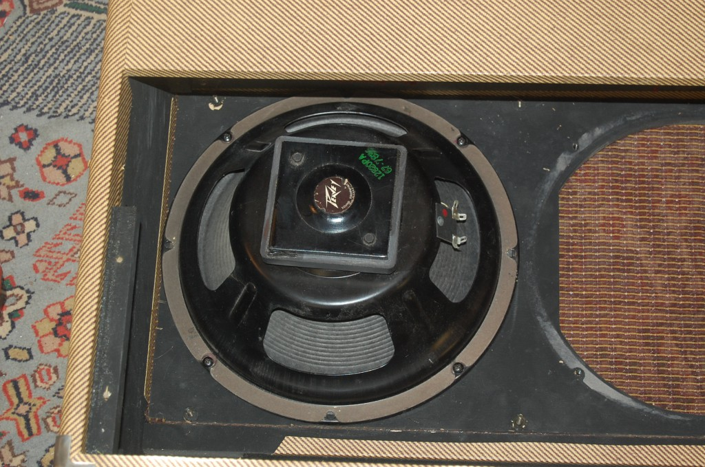 These late 70s Eminence speakers suited the amp much better and were a lot lighter!