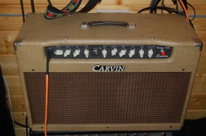 Carvin Belair all repaired with new grill cloth and lighter speakers