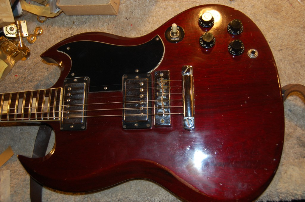 1970 Gibson SG Standard in for som elove!