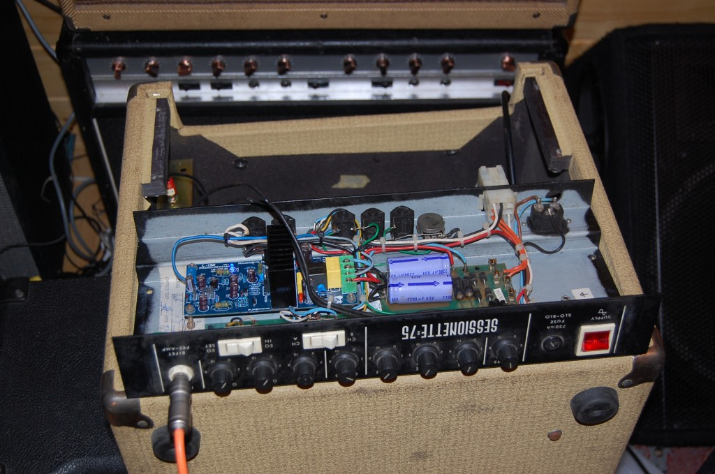 The ready made module fitted in well and uses the original Sessionette 75 power supply