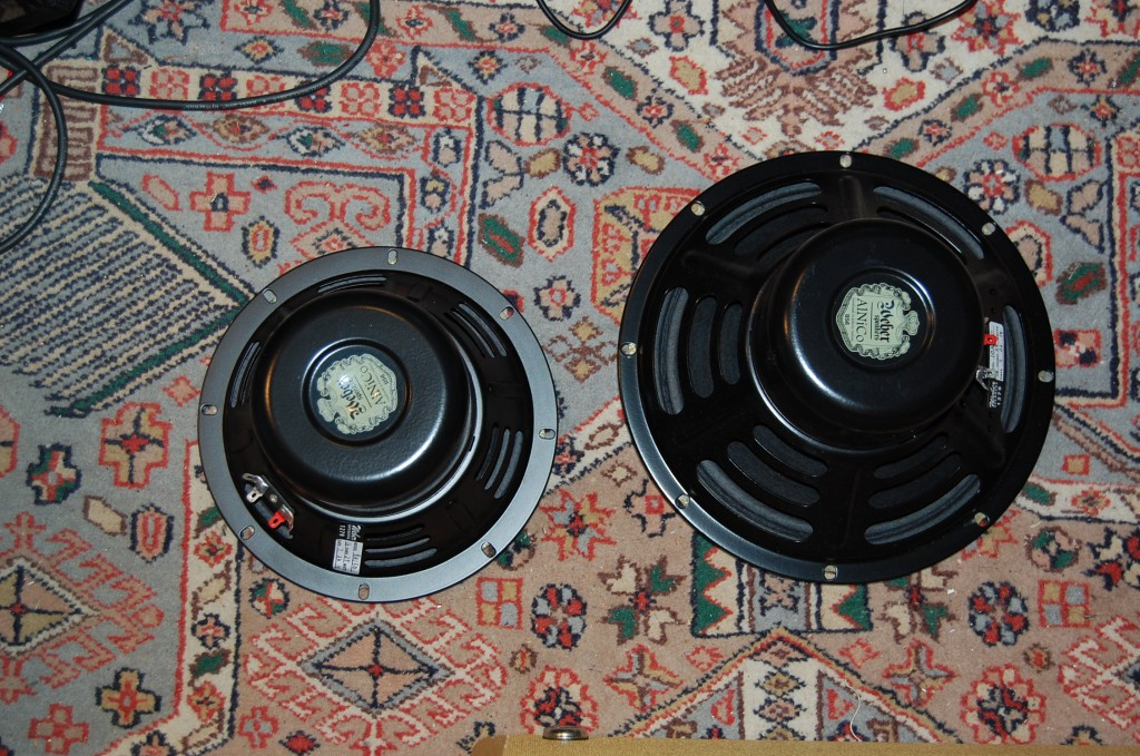 "Replacement Weber Alnico 8"" and 10""speakers"