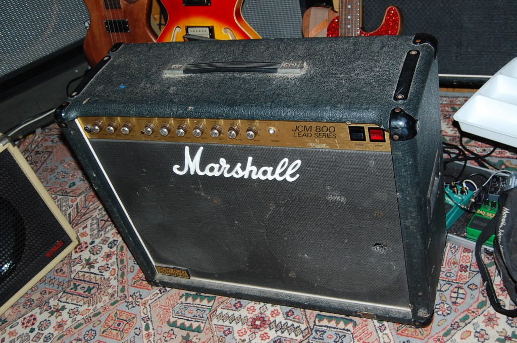 Well used JCM800 100 Watt combo!