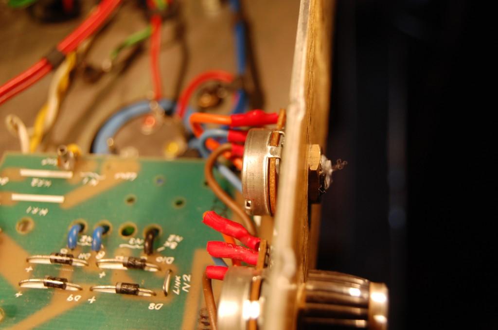 Knob needing repair
