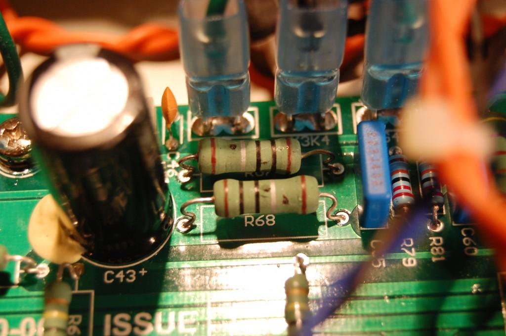 Open Circuit 1 Ohm Resistors