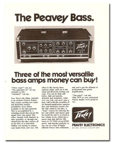 peavey-bass