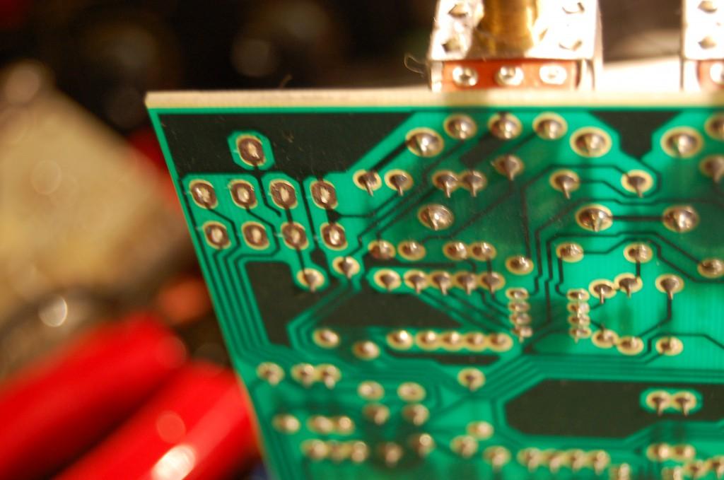 Cleaned PCB