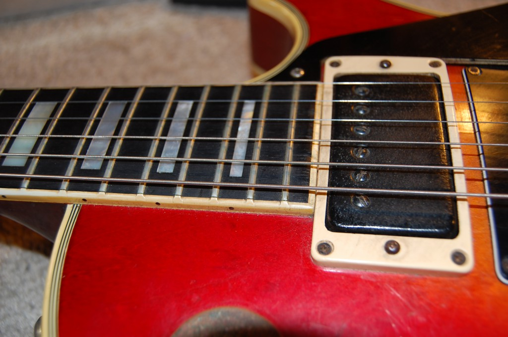 Pickup covers had been pained black...