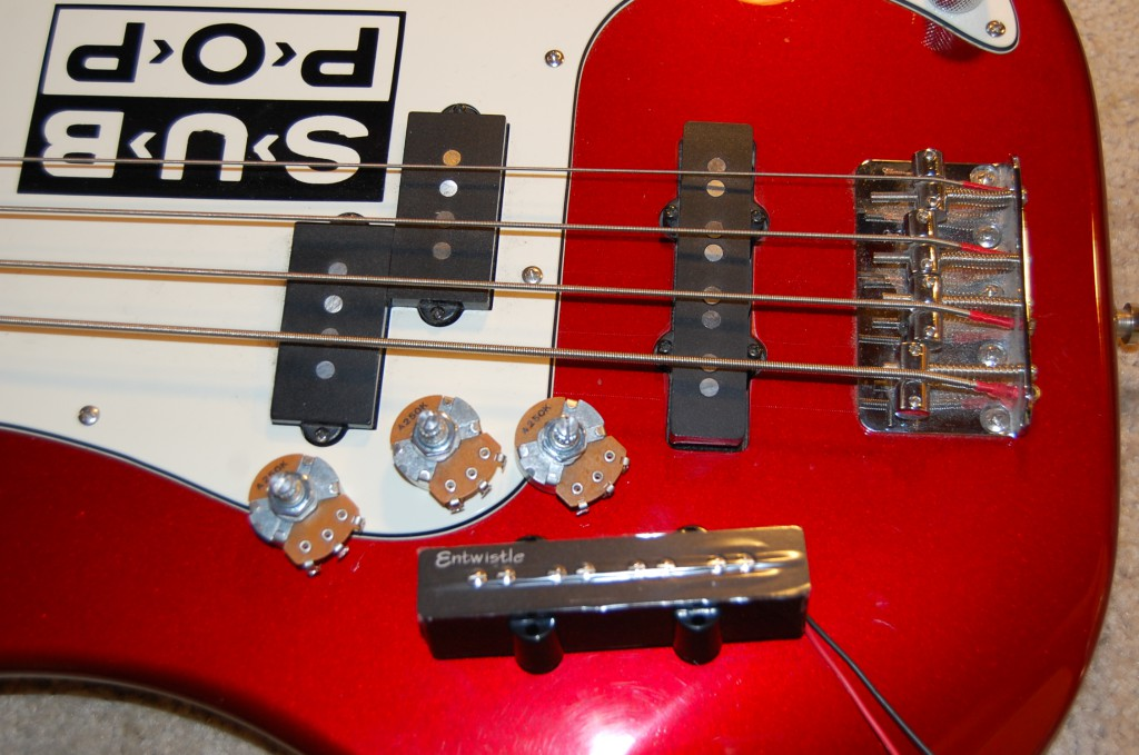 PJ Bass in to improve the sound from the bridge pickup.