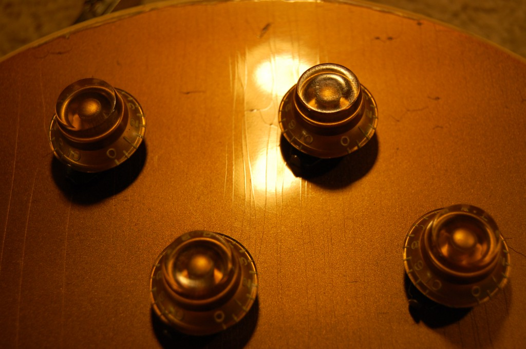 Original knobs all shrunk a little..