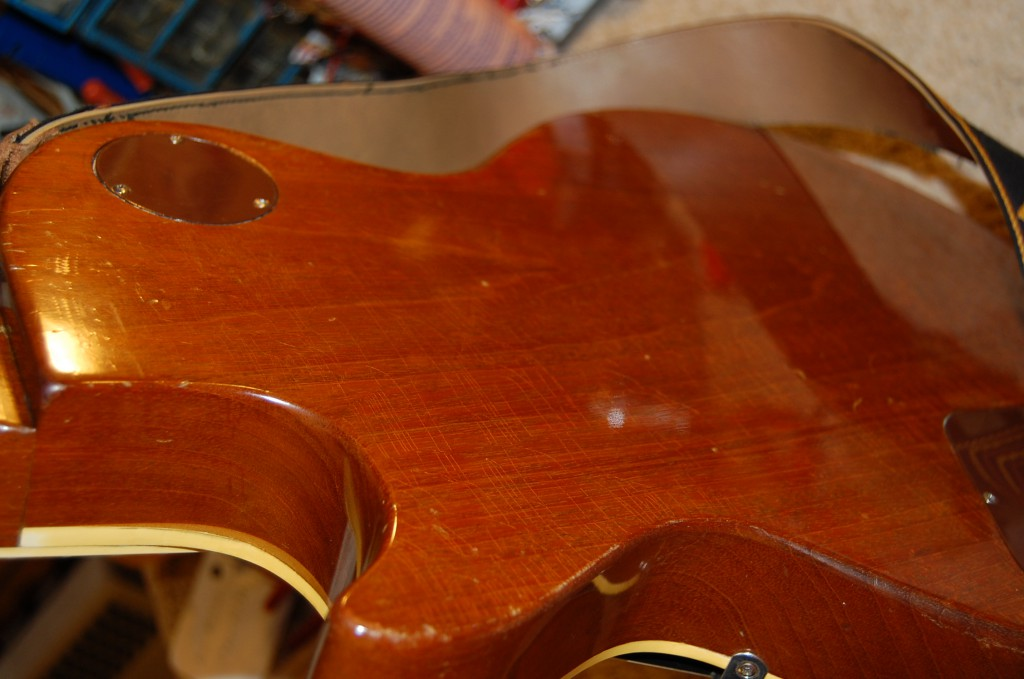 One piece Mahogany body..