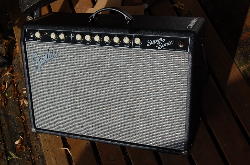 Nice Fender Supersonic 60 amp in for a checkup
