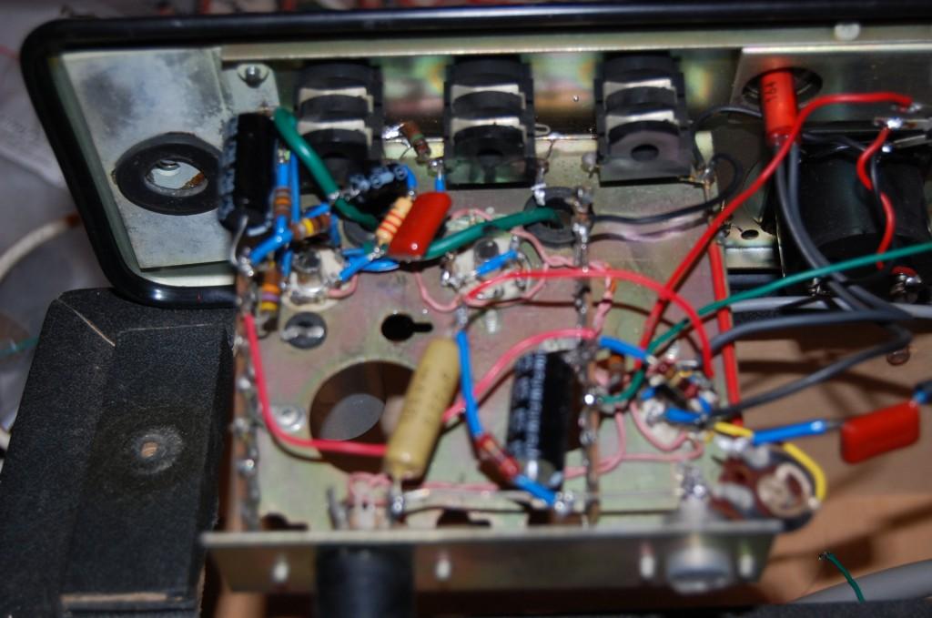 input tube circuit ECC83