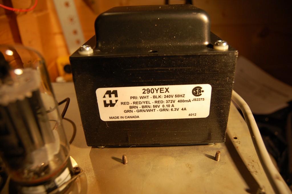 New power supply transformer