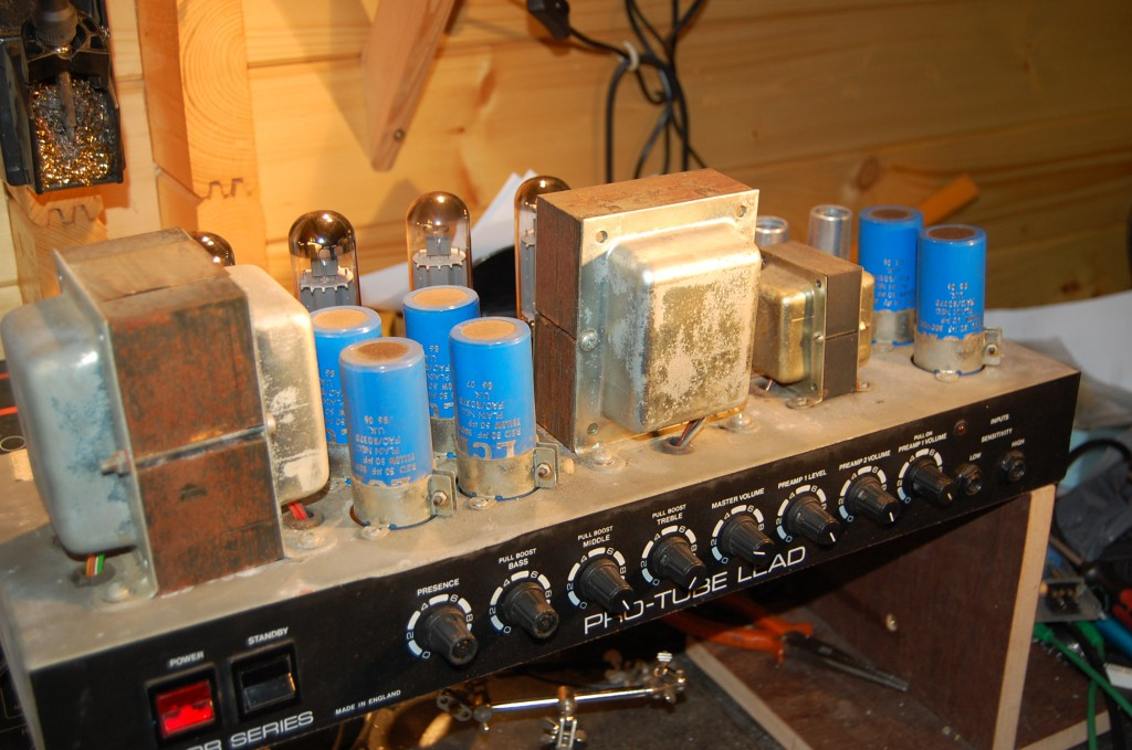 Caps all from 1986 ideally need replacing to make her a solid reliable amp