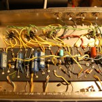 Neat wiring.. less of a spagetti fest than the later silverface amps