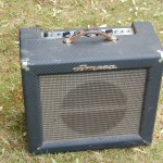 Well used Ampeg Reverberocket.. not working