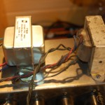 She worked for a while then smoke came out the output transformer... new one necessary